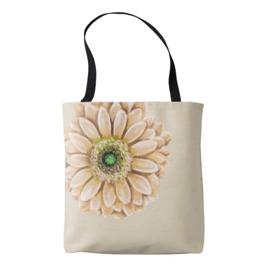 Floral Canvas Bag | Renée at Great Peace #homeschool #ihsnet