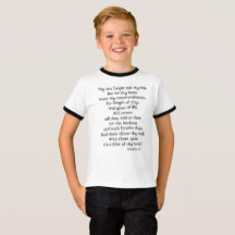 Keep my Commands Quote Proverbs 3:1-3 Tee | Renée at Great Peace #homeschool #ihsnet