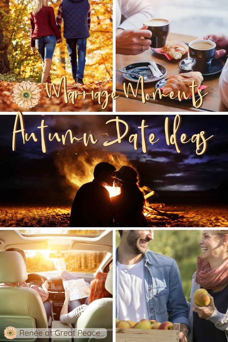 Autumn Date Ideas to Keep the Spark Warm in Your Marriage   Renée at Great Peace #ihsnet #homeschool #moms #marriagemoments