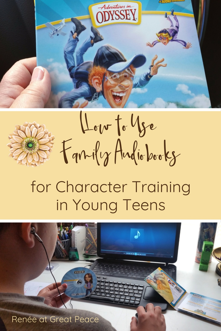 How to Use Family Audiobooks to as Character Training tools