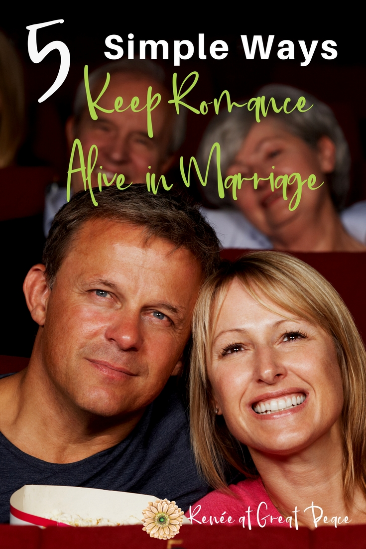 how to keep romance in a marriage