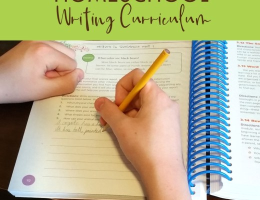 A Homeschool Writing Curriculum that Takes the Fear Out of Writing   Renée at Great Peace #ihsnet #homeschool #writing @ApologiaWorld