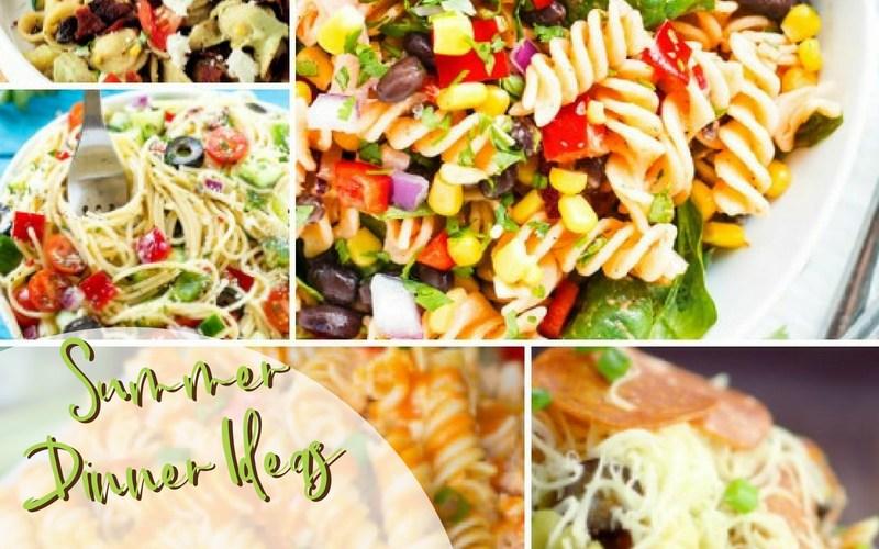 Summer Dinner Ideas Pasta Salads   Renée at Great Peace