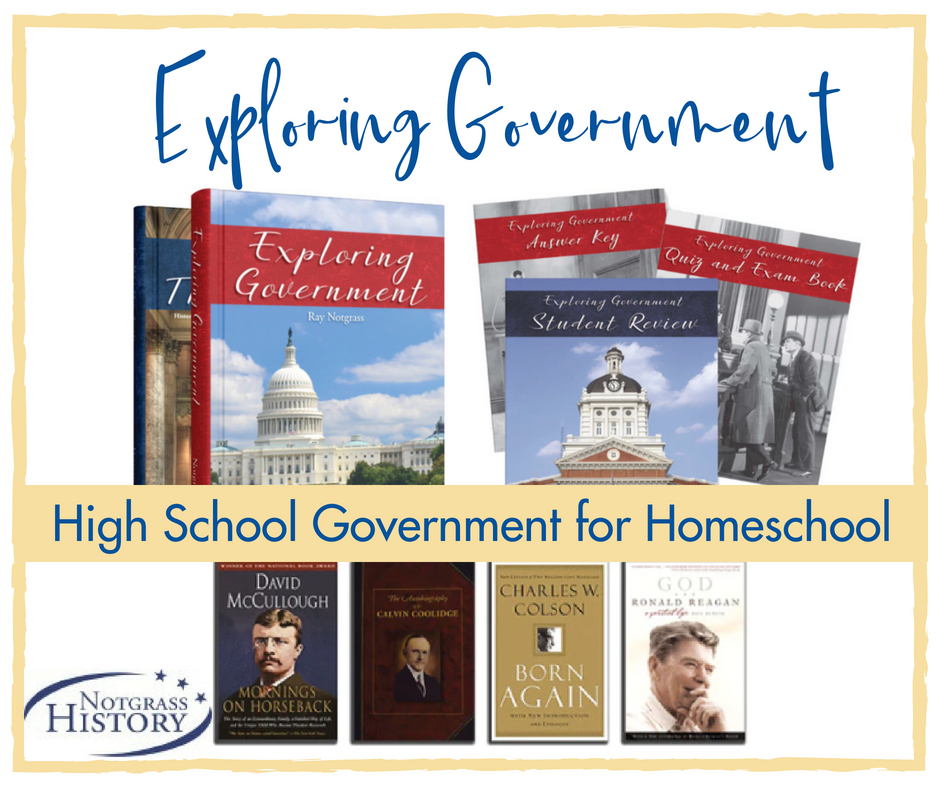 Notgrass History, Exploring Government