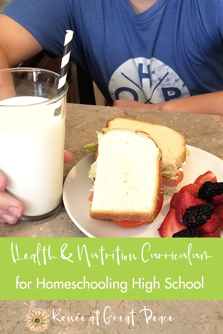 Health and Nutrition Curriculum from @apologiaworld | Renée at Great Peace #homeschool #ihsnet