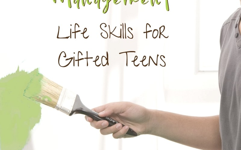 Household Management Life Skills to Teach Gifted Teens | Renée at Great Peace #ihsnet #gifted