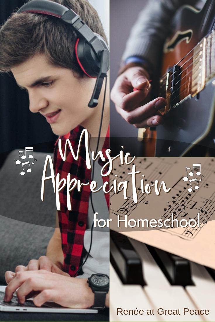 Music Appreciation Curriculum For Homeschool Renée At Great Peace