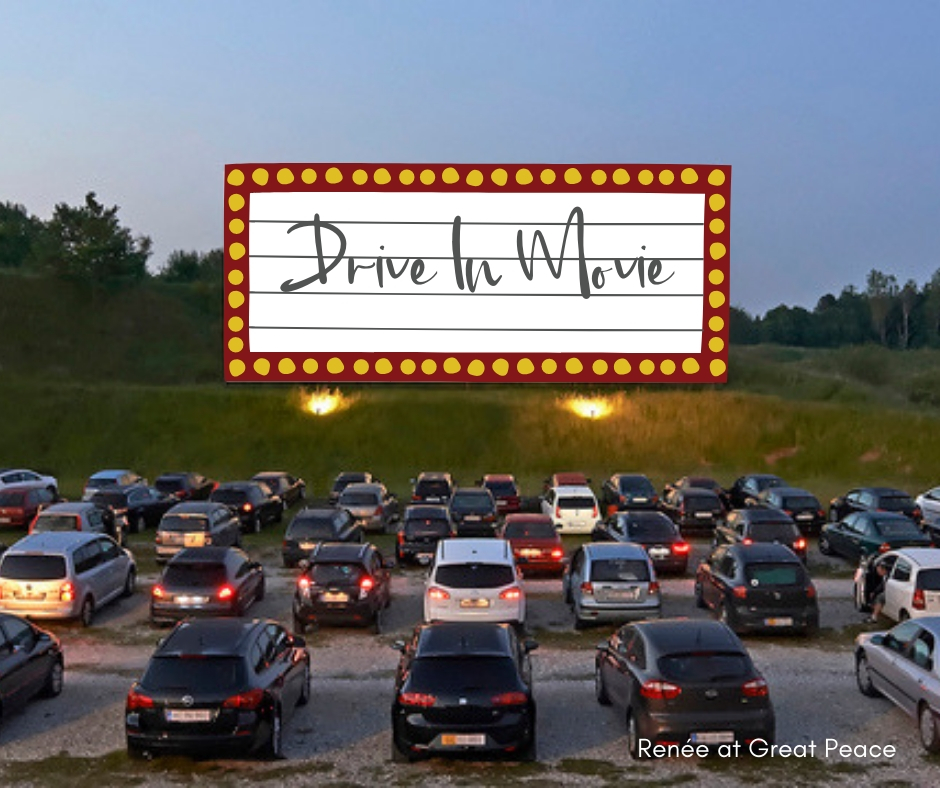 Drive In Movie & 51 Other Family Bonding Activities   Renée at Great Peace #familybonding #family #activities