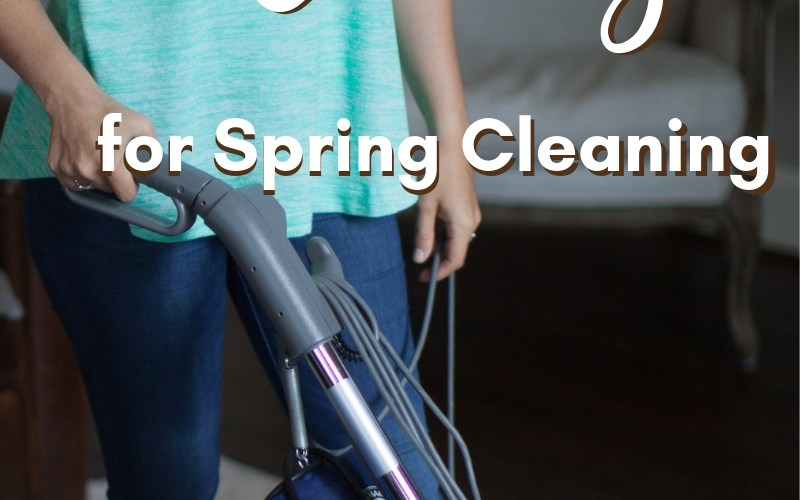 Household Chores for Spring Cleaning | Renée at Great Peace #homemaker #household #householdchores #springcleaning #ihsnet