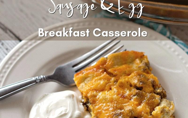 Make Ahead Breakfast Casserole   Renée at Great Peace #mealplanning #breakfast #familybreakfastideas #family