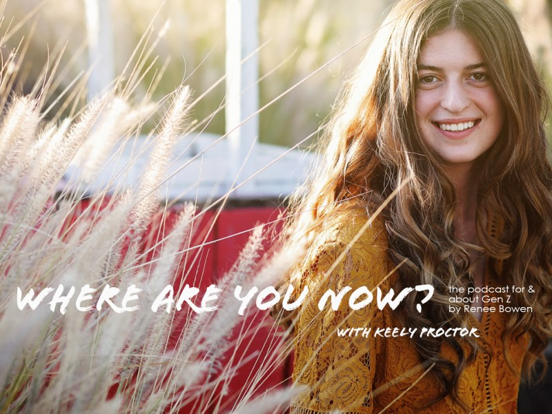 Keely Proctor's Second Chance at Life :: Episode 3 Where Are Your Now Podcast