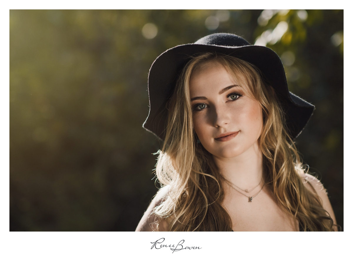 girl with boho hat