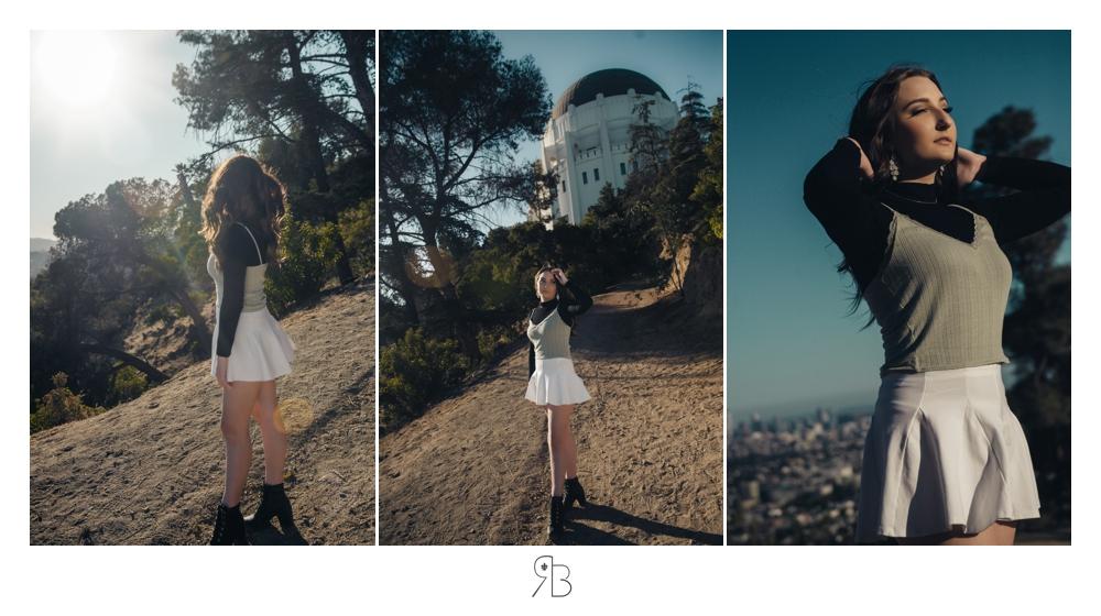 girl in white mini skirt in nature renee bowen seniors