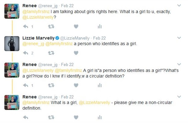 "Lizzie Marvelly defines ""girl"""