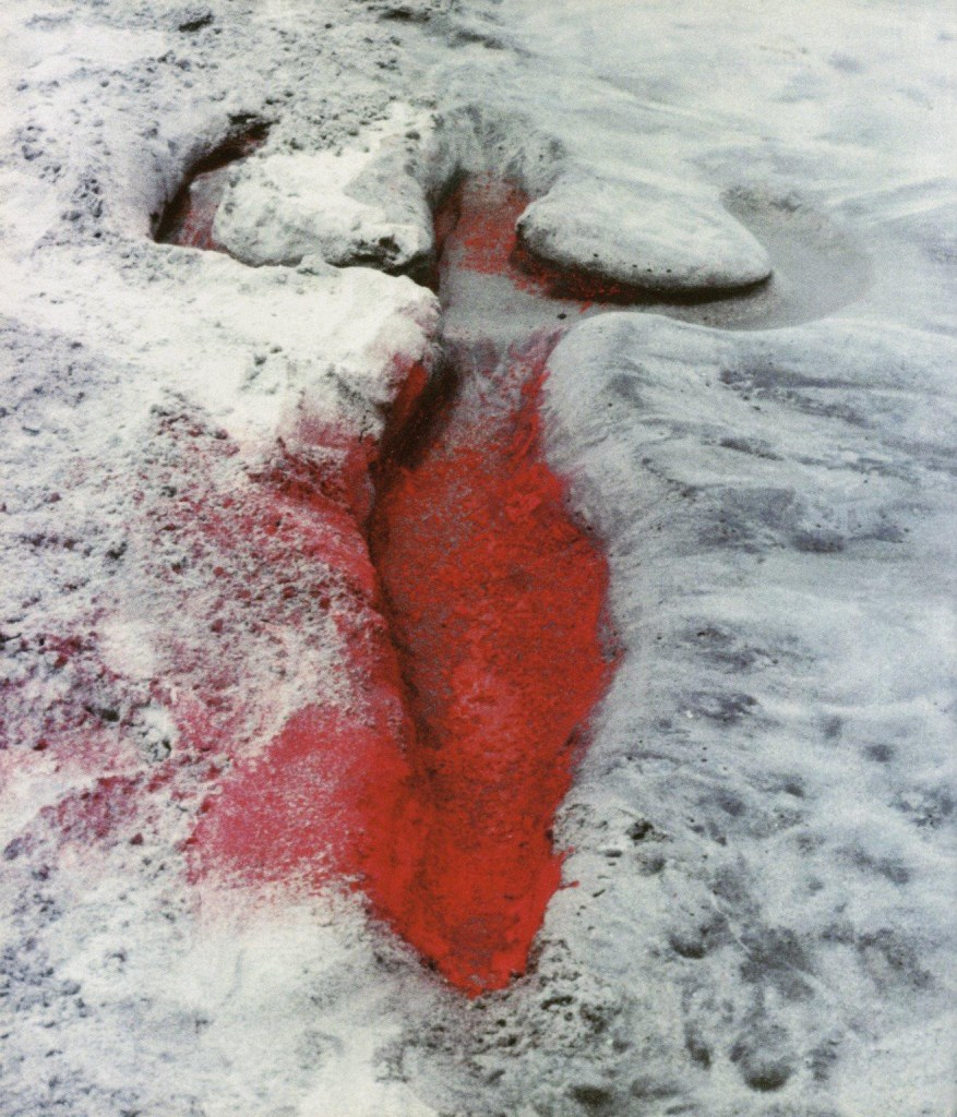 Ana Mendieta's 'Untitled (Silueta Series, Mexico),' 1976.