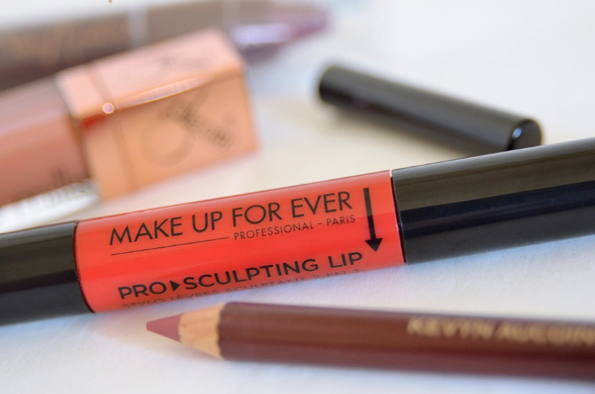make up for ever pro sculpting lip, kevyn aucoin the flesh tone lip pencil