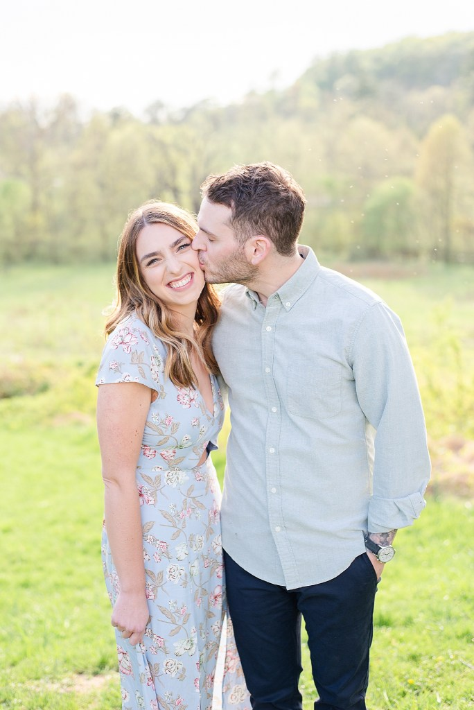 PA wedding photographer Renee Nicolo Photography captures Valley Forge PA engagement session