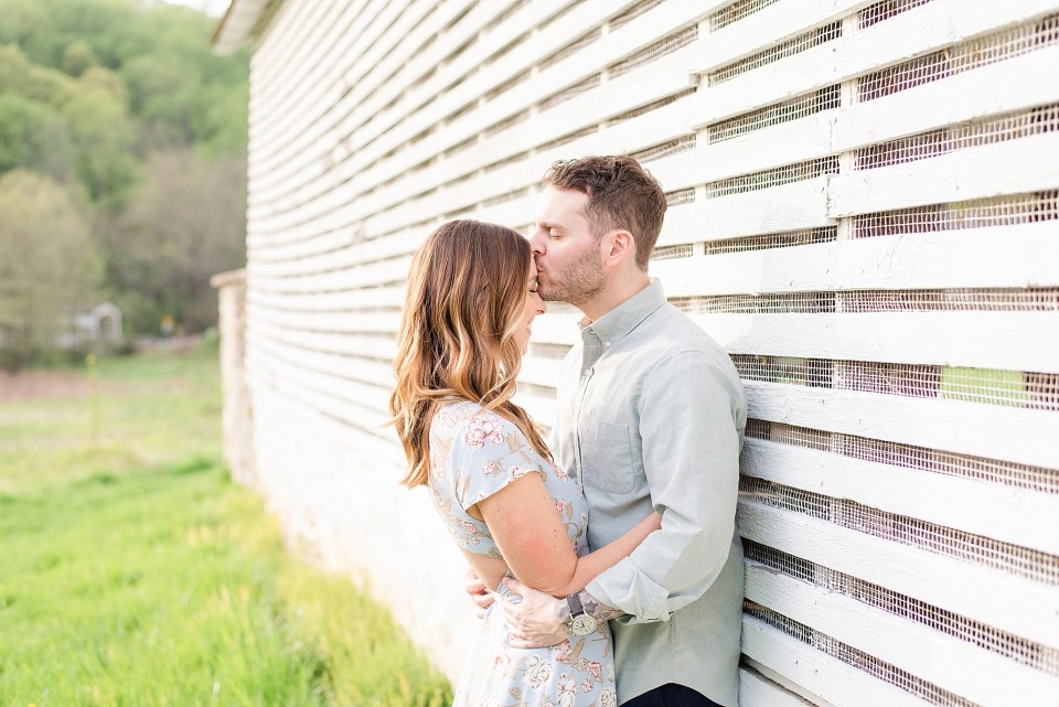 spring engagement session with Renee Nicolo Photography