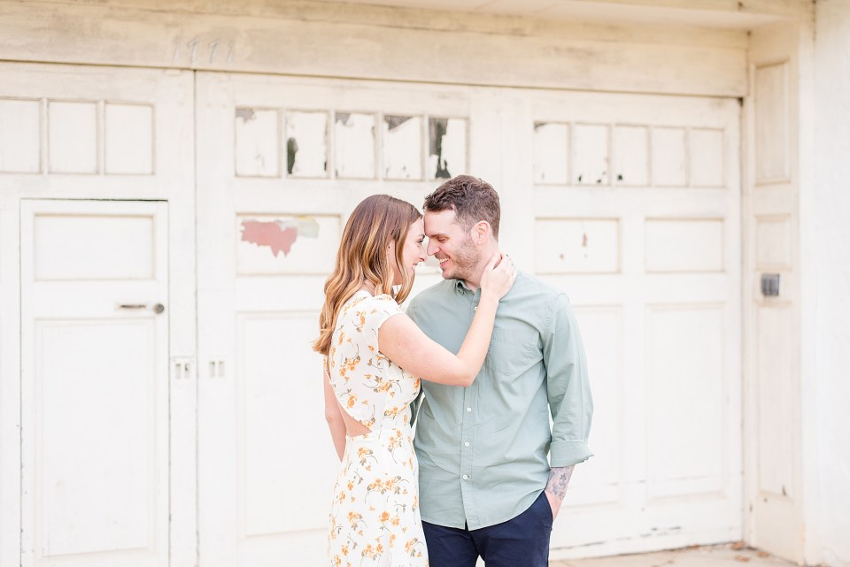 rustic outdoor engagement session with wedding photographer Renee Nicolo Photography