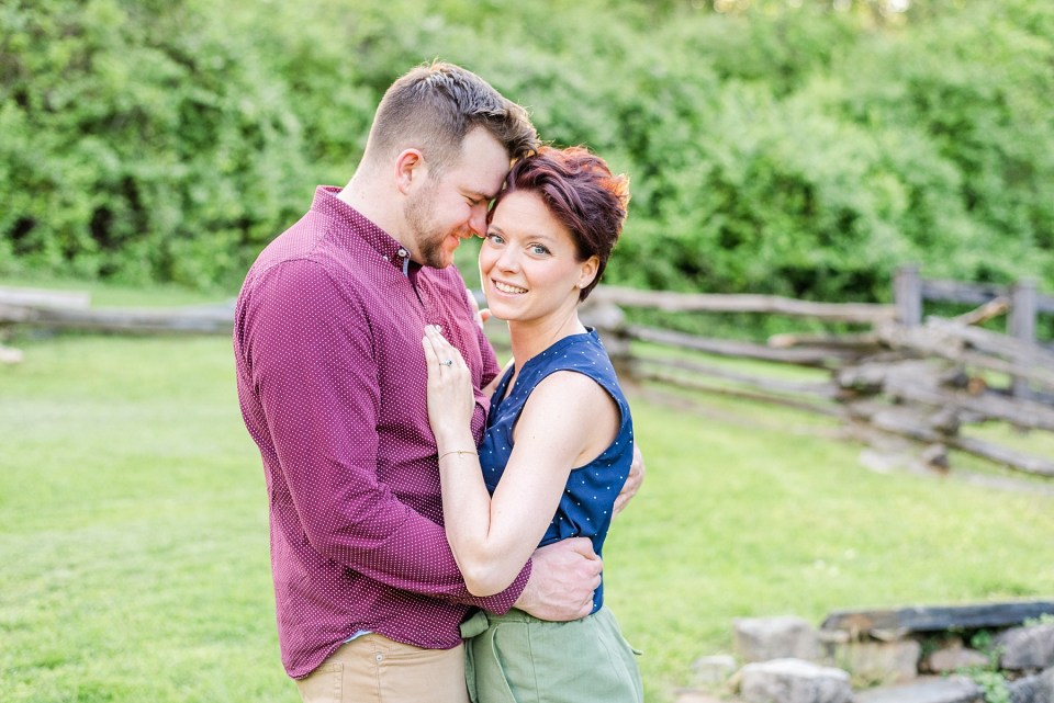 farm inspired engagement portraits in Bethlehem PA with Renee Nicolo Photography