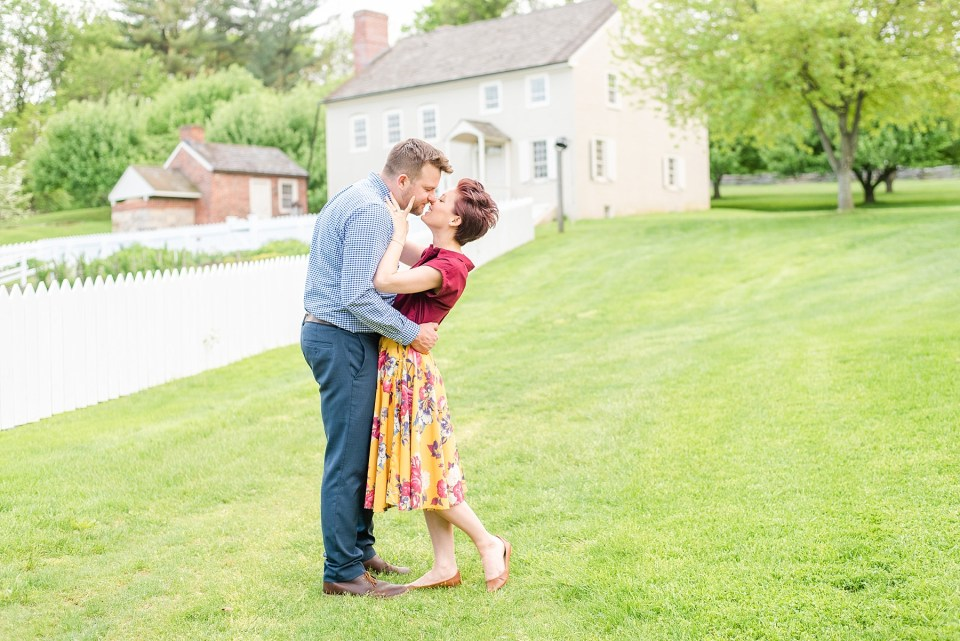 spring engagement session with Renee Nicolo Photography in Bethlehem PA