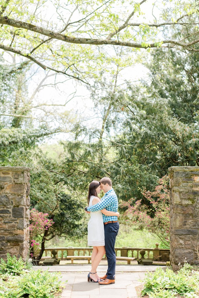 Renee Nicolo Photography photographs spring engagement session