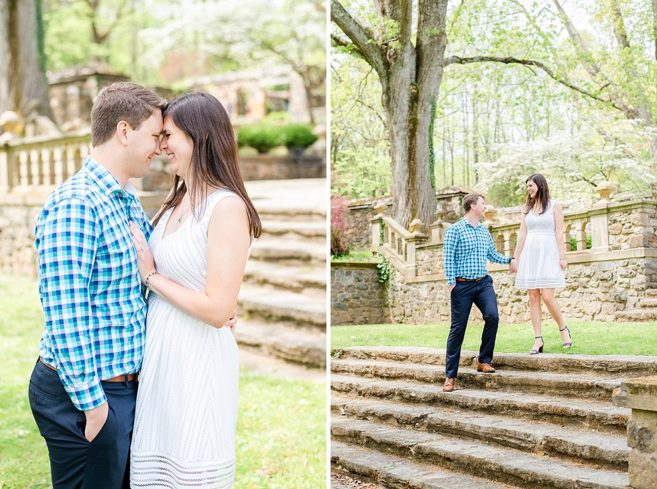 springtime engagement portraits with Renee Nicolo Photography