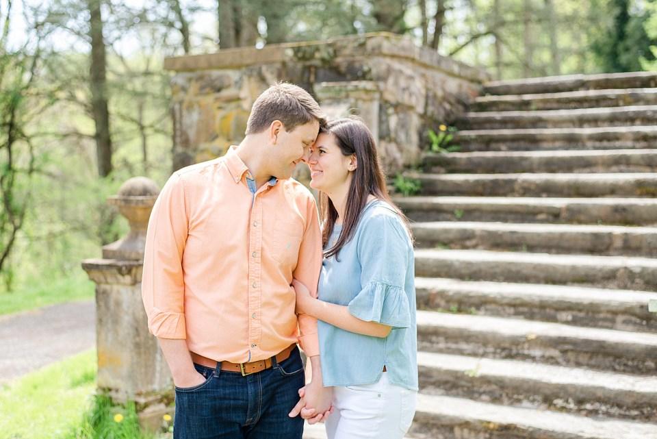 PA wedding photographer Renee Nicolo Photography photographs engagement portraits