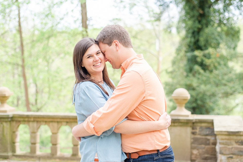 spring engagement portraits with Renee Nicolo Photography