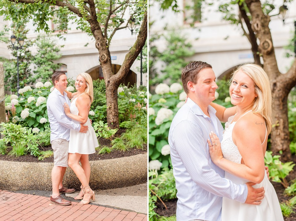 Philly Center City engagement session by Renee Nicolo Photography