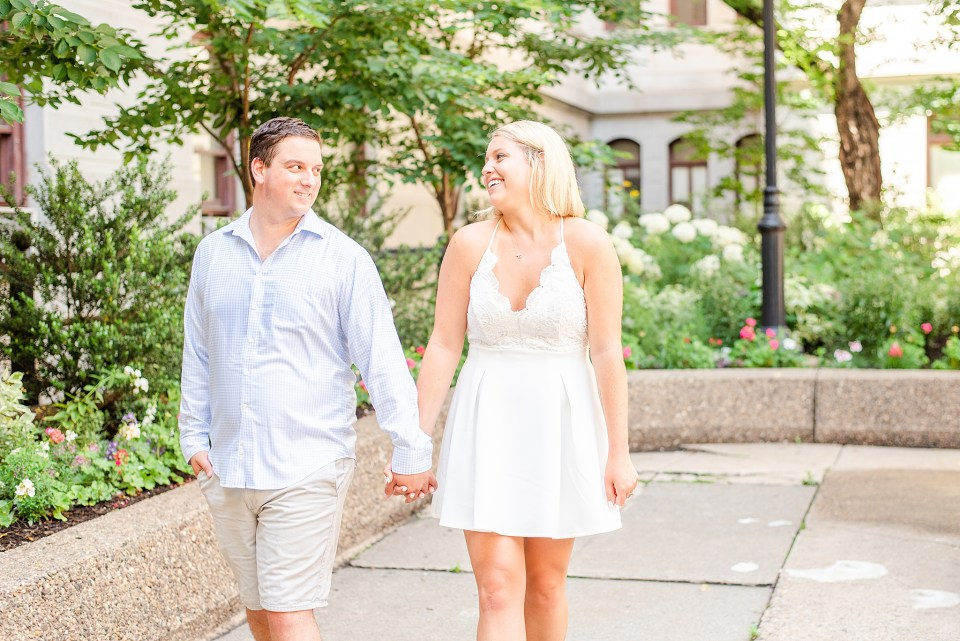 summer engagement session by PA wedding photographer Renee Nicolo Photography