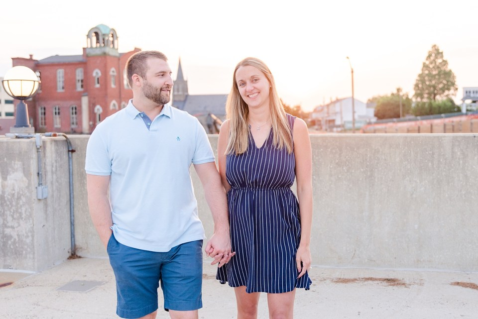 evening engagement session with Renee Nicolo Photography