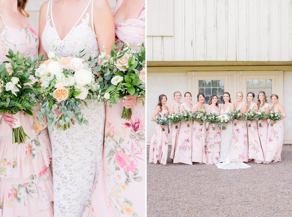 spring bridal bouquet inspiration by PA wedding photographer Renee Nicolo Photography