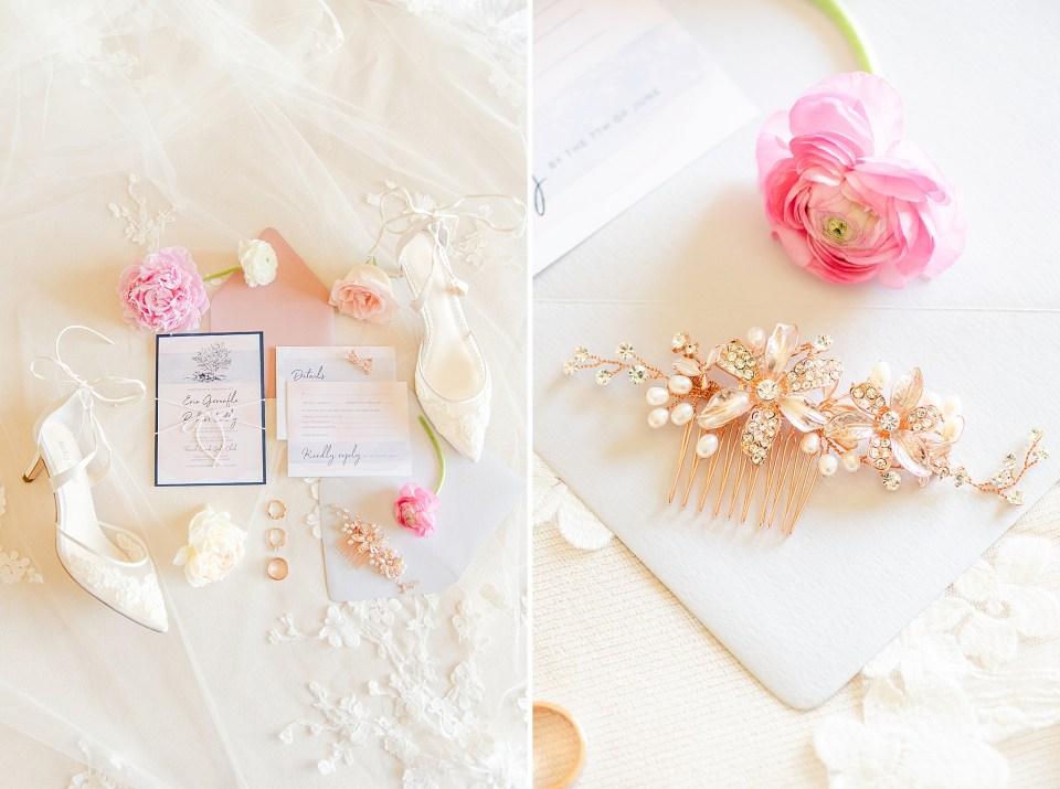 PA wedding photographer Renee Nicolo Photography captures summer wedding details