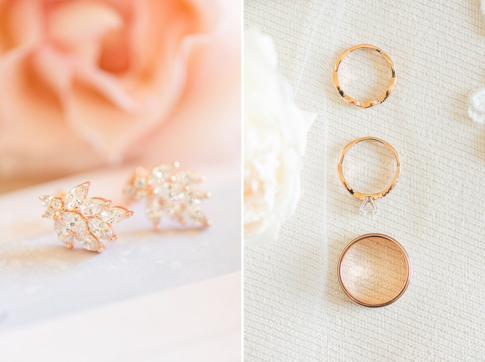 jewelry for French Creek Golf Club wedding photographed by Renee Nicolo Photography