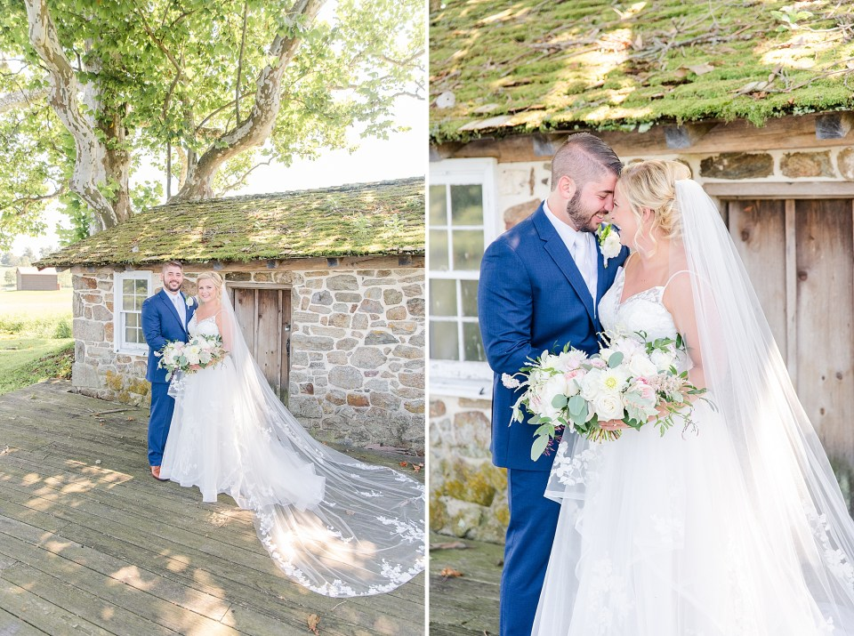 wedding portraits at French Creek Golf Club by Renee Nicolo Photography