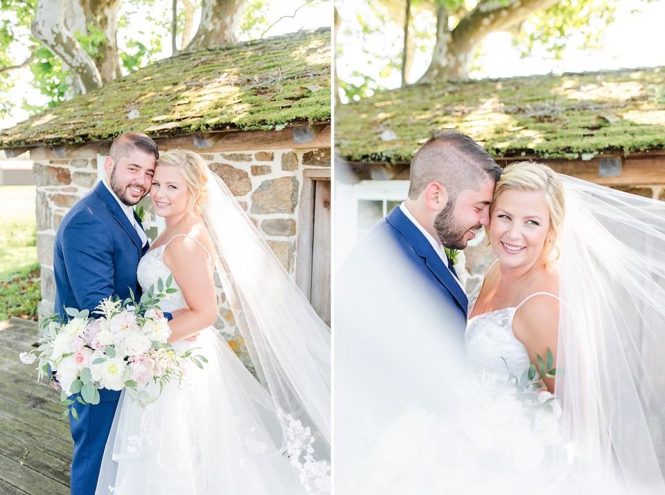 romantic wedding portraits by Renee Nicolo Photography in Pennsylvania