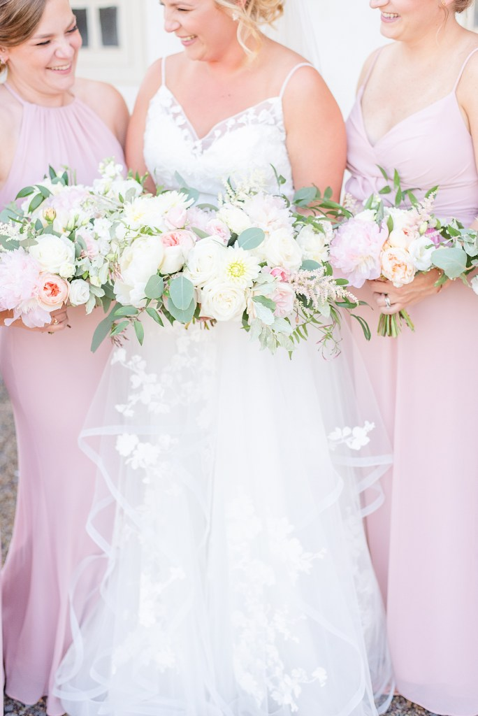 wedding bouquets photographed by PA wedding photographer Renee Nicolo Photography