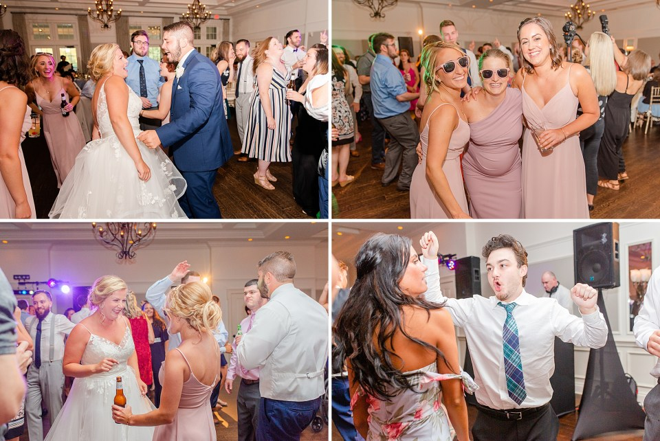wedding reception at French Creek Golf Club photographed by Renee Nicolo Photography