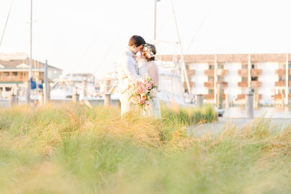 intimate Rehoboth Beach wedding photographed by Renee Nicolo Photography