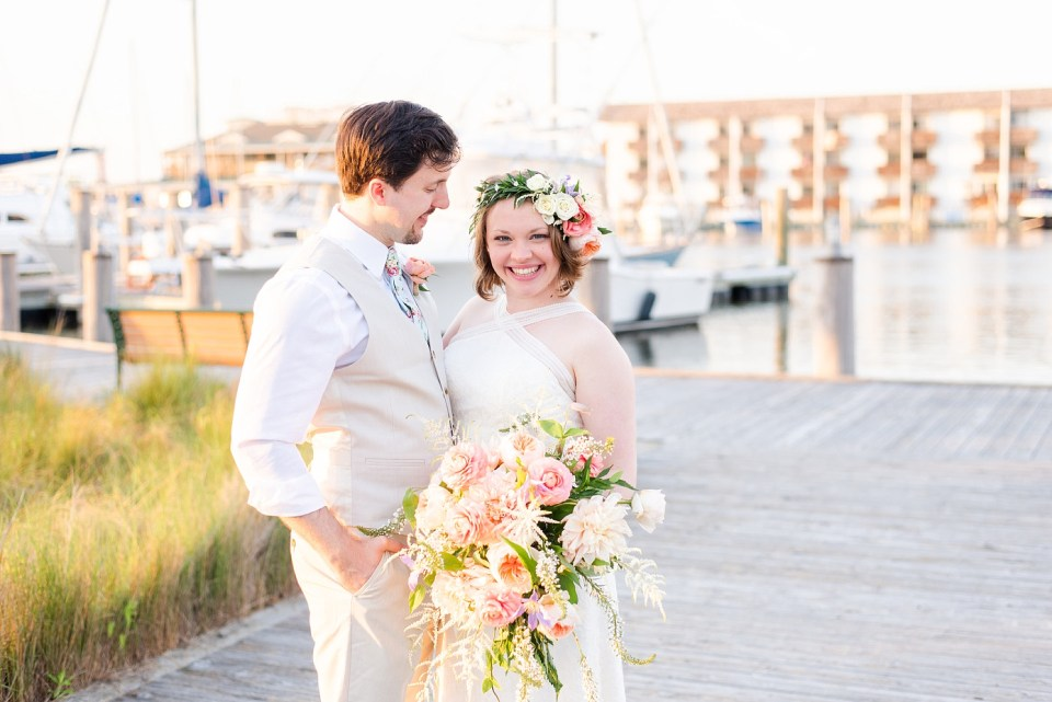 elopement at Rehoboth Beach in Delaware photographed by Renee Nicolo Photography