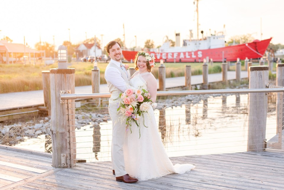 Renee Nicolo Photography photographs Rehoboth Beach elopement