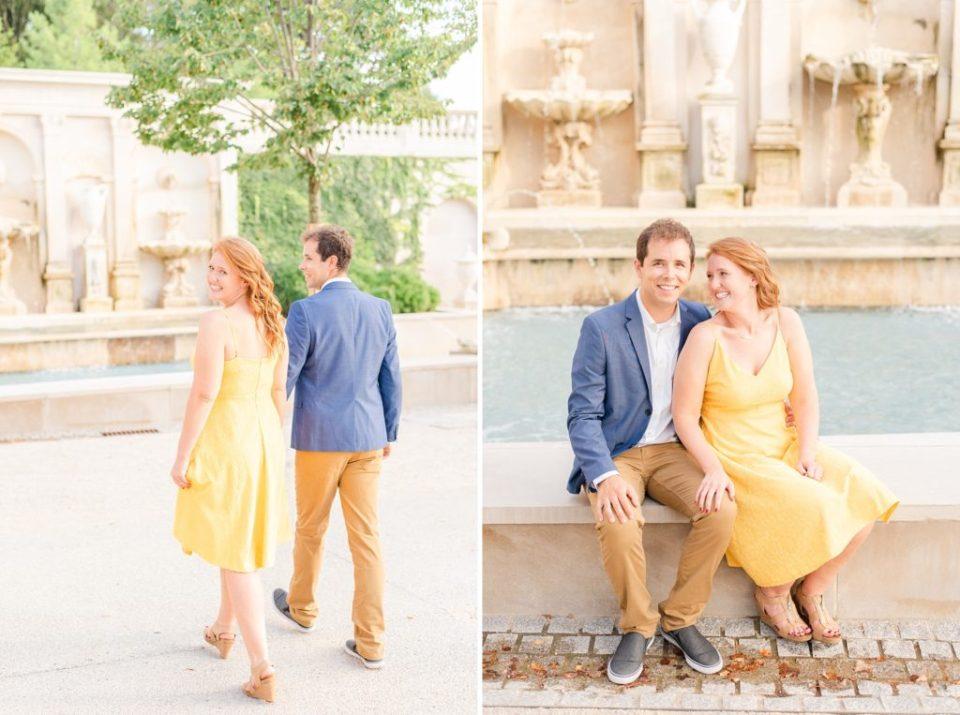 Longwood Gardens portraits by PA wedding photographer Renee Nicolo Photography