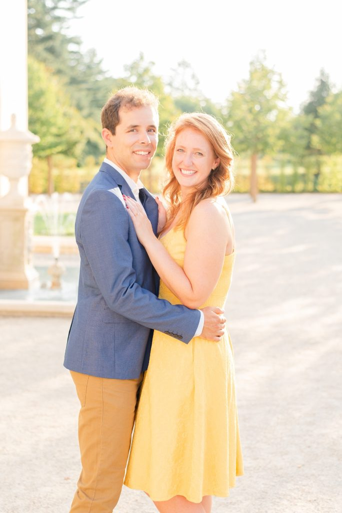 romantic engagement session in PA with Renee Nicolo Photography