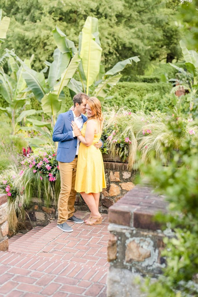 bright colored engagement outfits in session with Renee Nicolo Photography