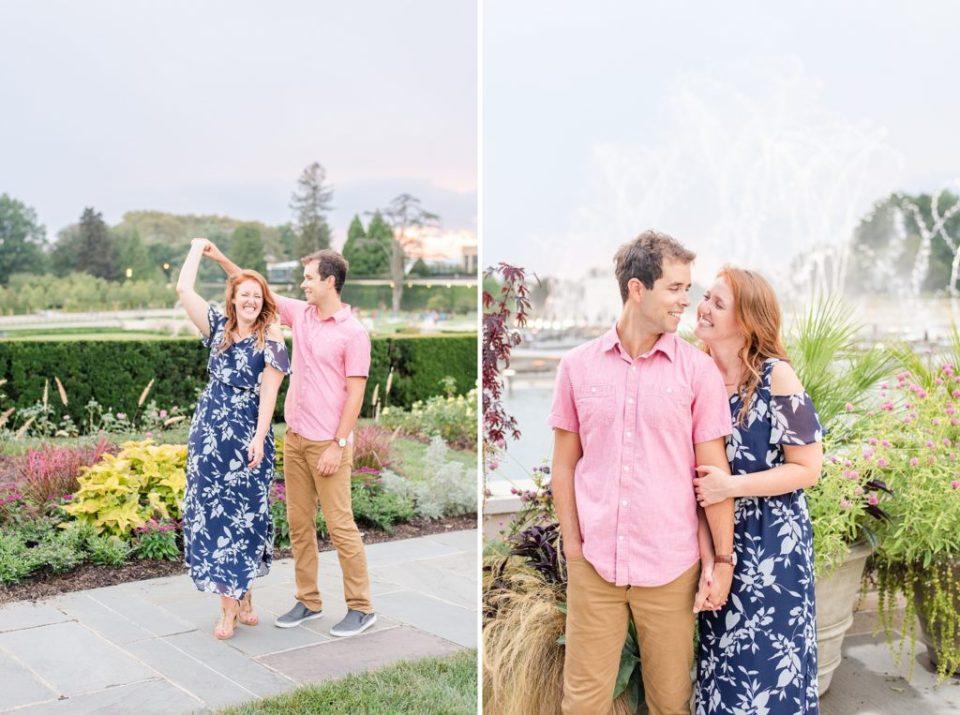 Renee Nicolo Photography photographs summer engagement portraits