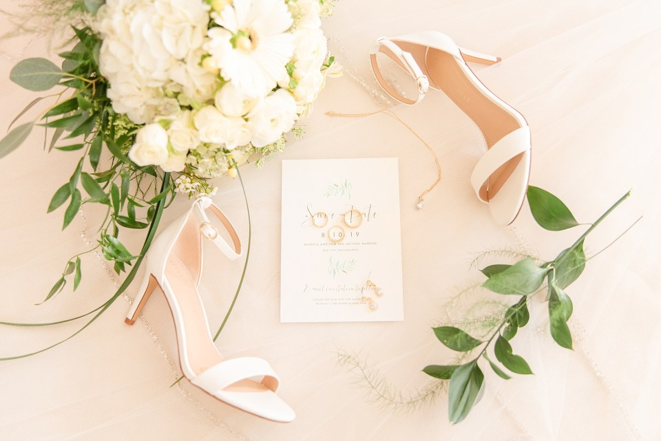 wedding stationery by Elli photographed by Renee Nicolo Photography