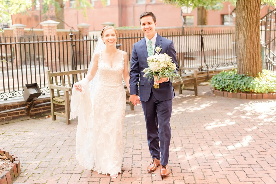 Renee Nicolo Photography photographs Christ Church wedding day