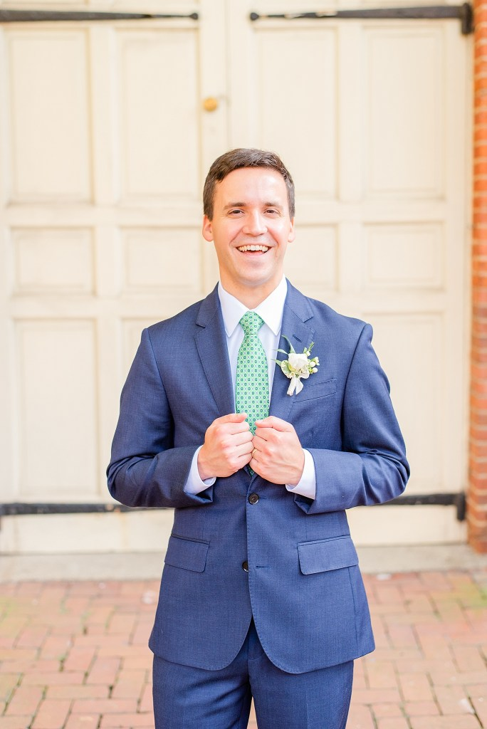 wedding suit photographed by Renee Nicolo Photography