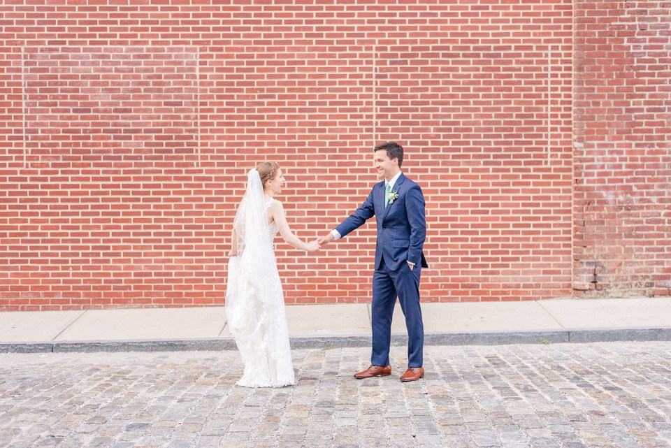 wedding portraits in the streets of Philly by Renee Nicolo Photography